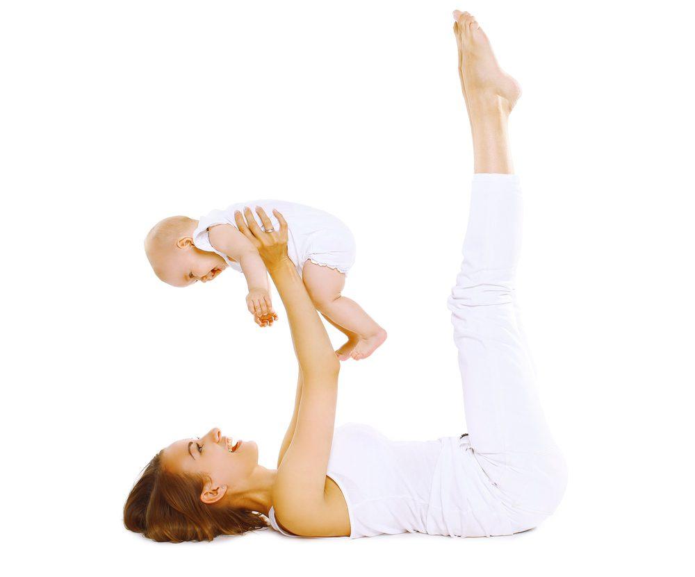 Pilates pré et <br>postnatal